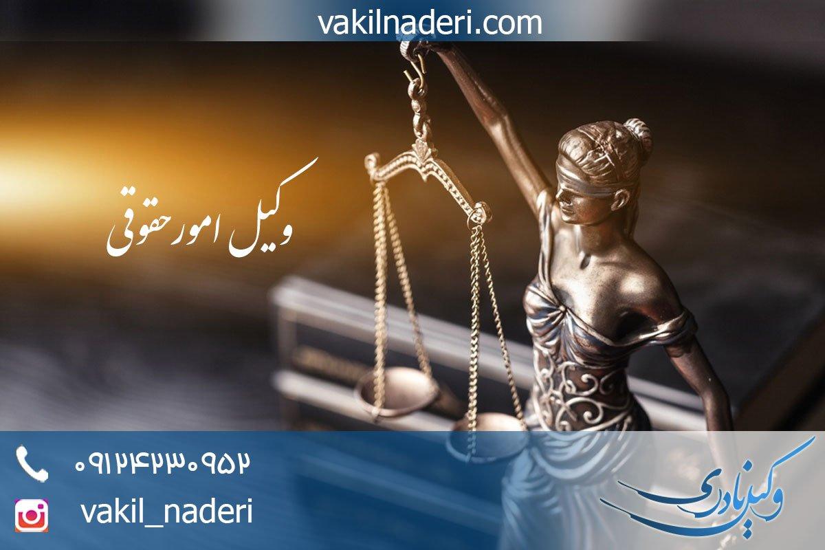 وکیل حقوقی